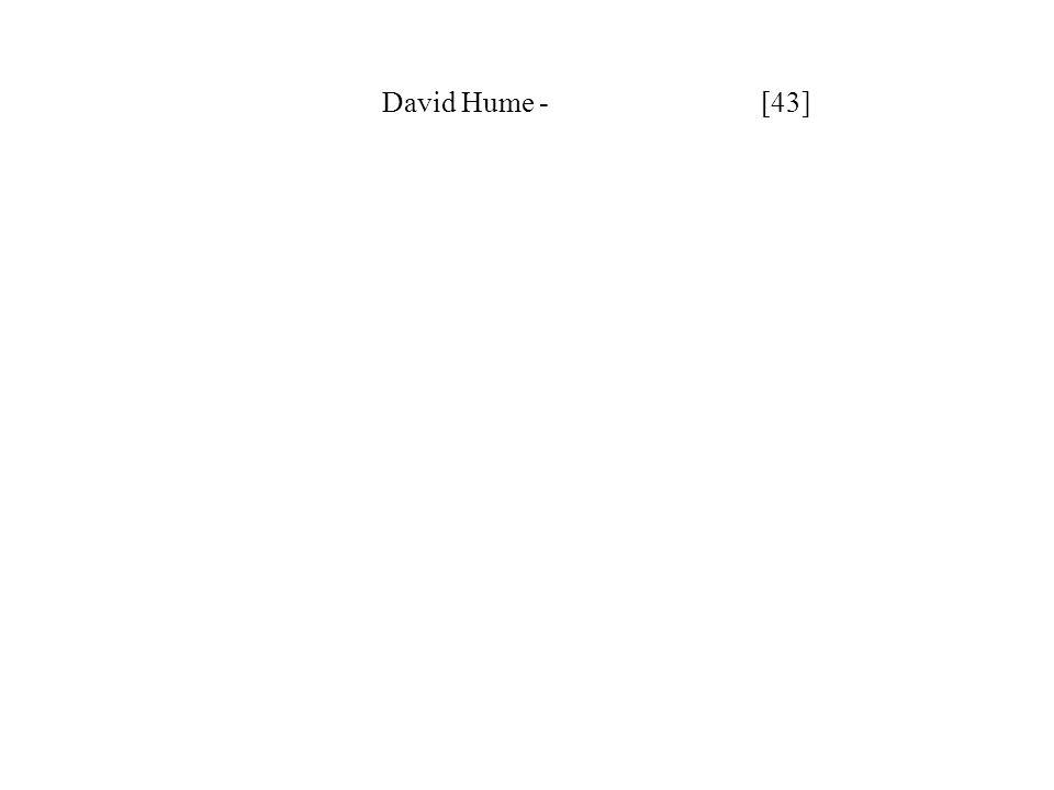 David Hume - [43]